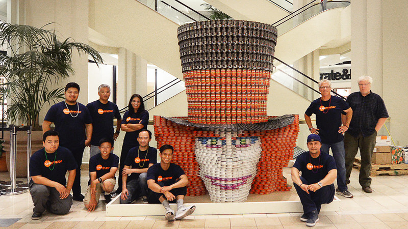 News Withee Malcolm Architects Wins Canstruction International Citywide Competition Award Ceremony