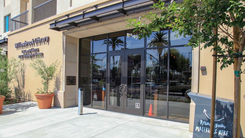 Willowbrook Library Entrance