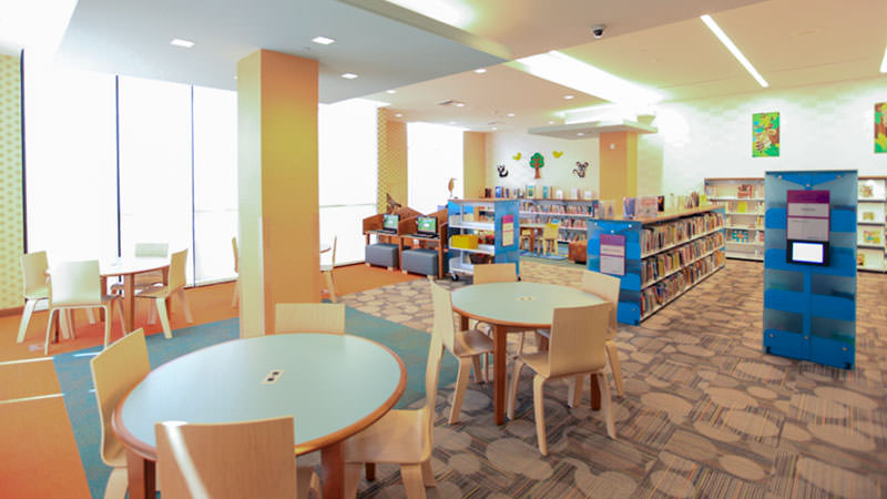 Willowbrook Library Tables