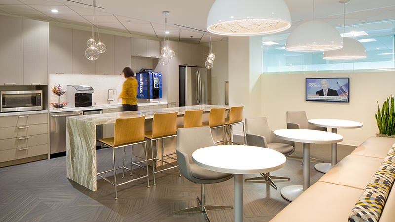Withee Malcolm Interiors Nelson Mullens Break Room