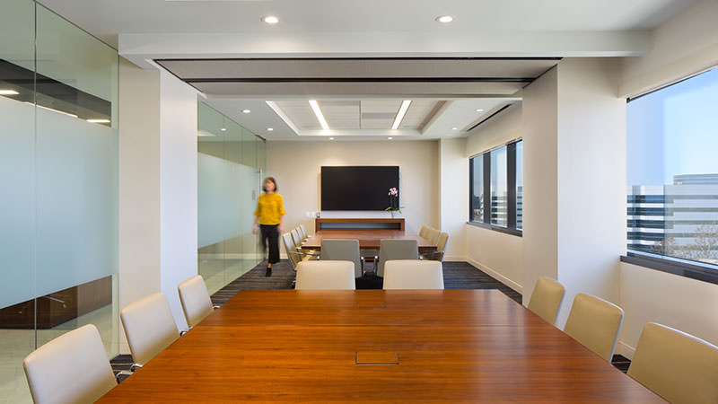 Withee Malcolm Interiors Nelson Mullens Conference Room